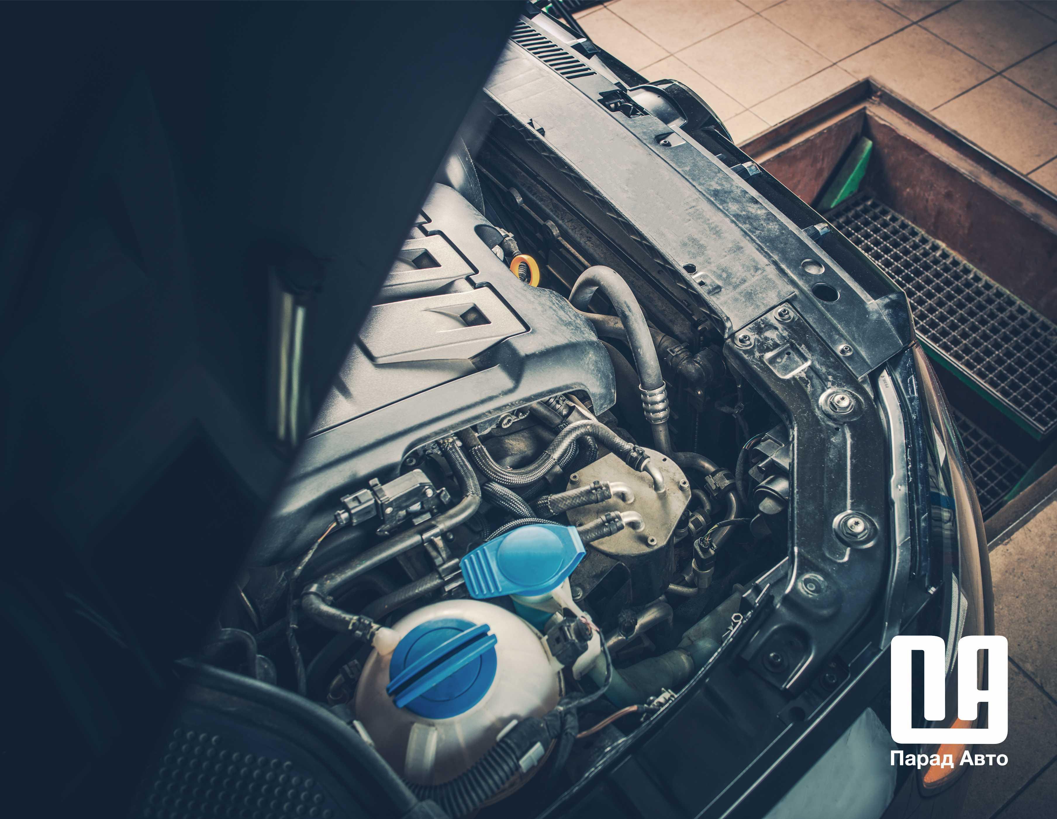 Диагностика двигателя в Минске